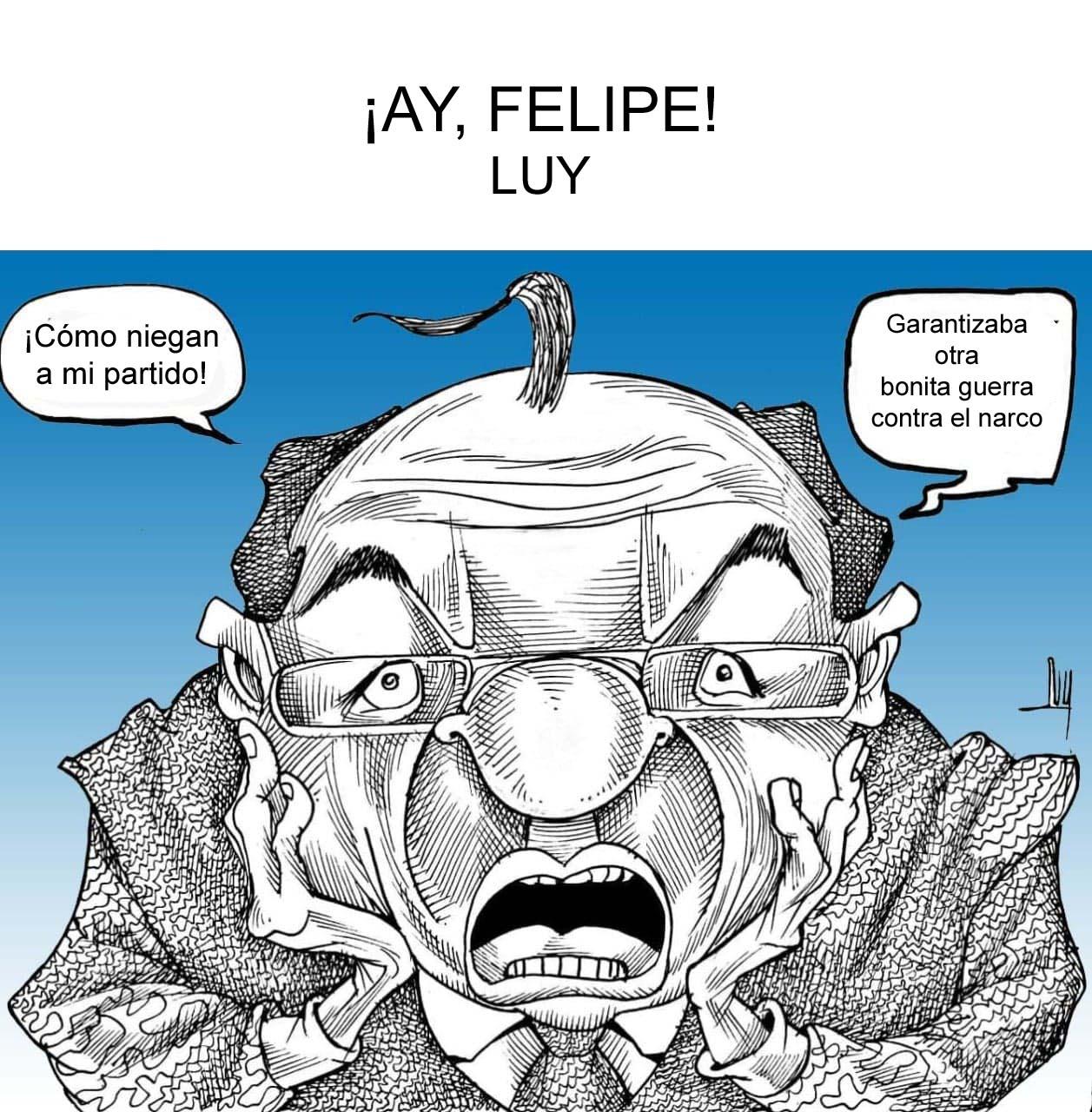 ¡Ay, Felipe! por Luy