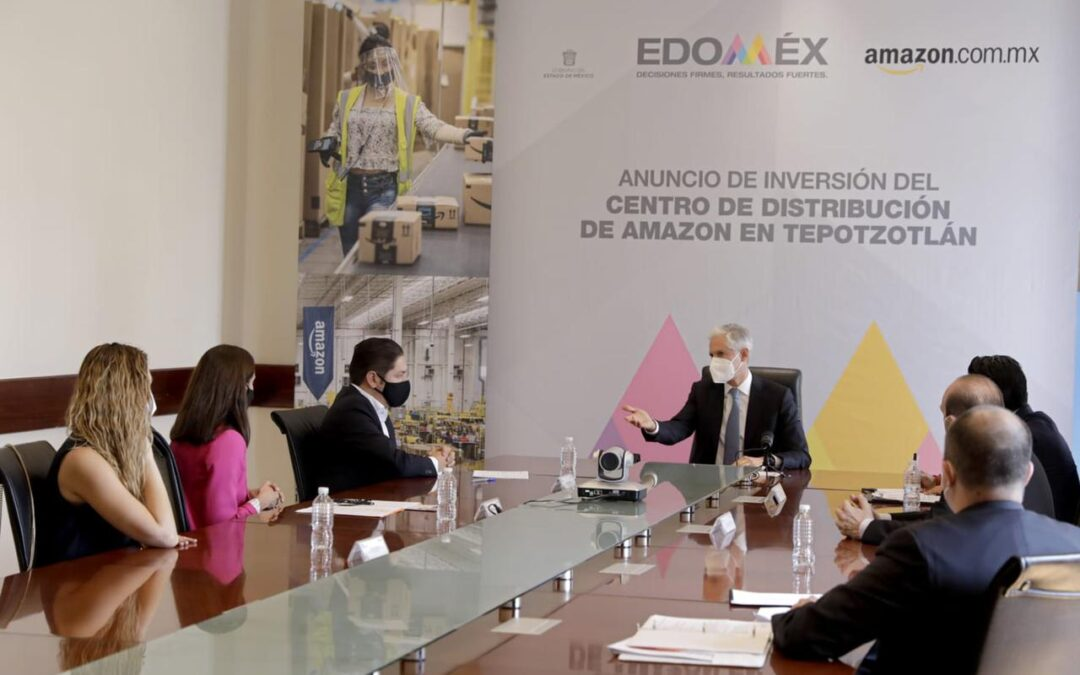 Destaca del Mazo apuesta del sector logístico en el Edomex