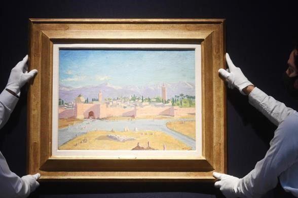 Cuadro pintado por Churchill fue vendido por 11.5 MDD