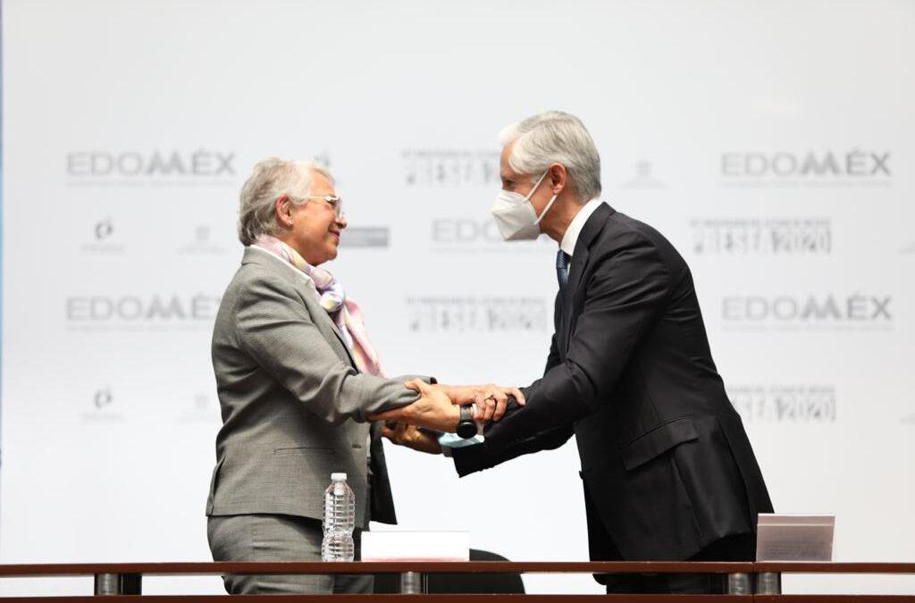 Gobierno federal reconoce al Edomex durante su aniversario