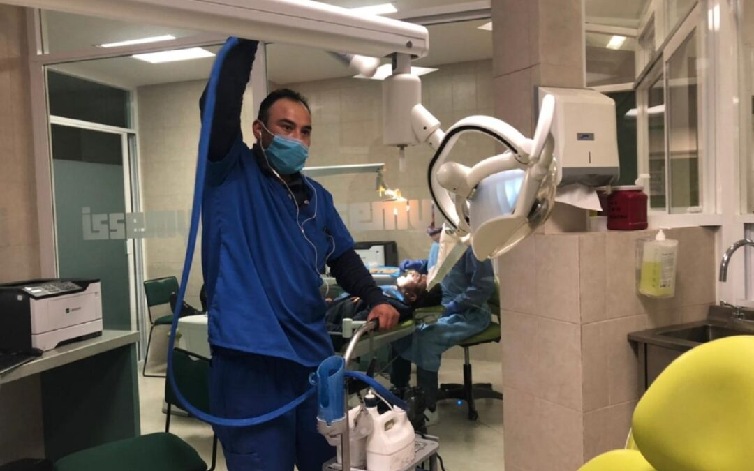 Sigue el servicio odontológico en ISSEMyM pese a pandemia