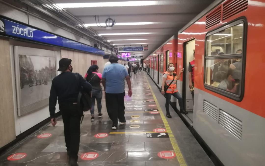 Metro Zócalo sin servicio el 4 y 5 de marzo
