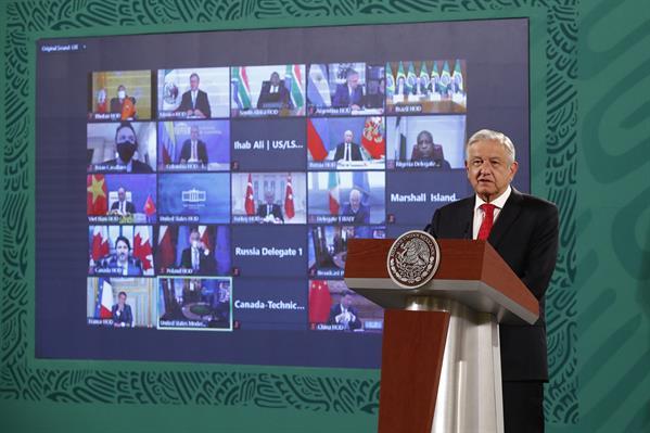 México busca generar energías «limpias y baratas»: AMLO