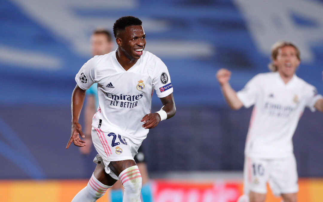 Vinicius brilla en victoria del Real Madrid