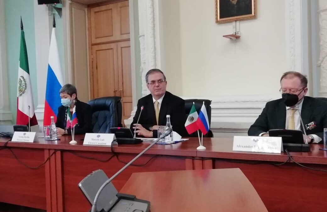 Marcelo Ebrard concluye su visita en Rusia