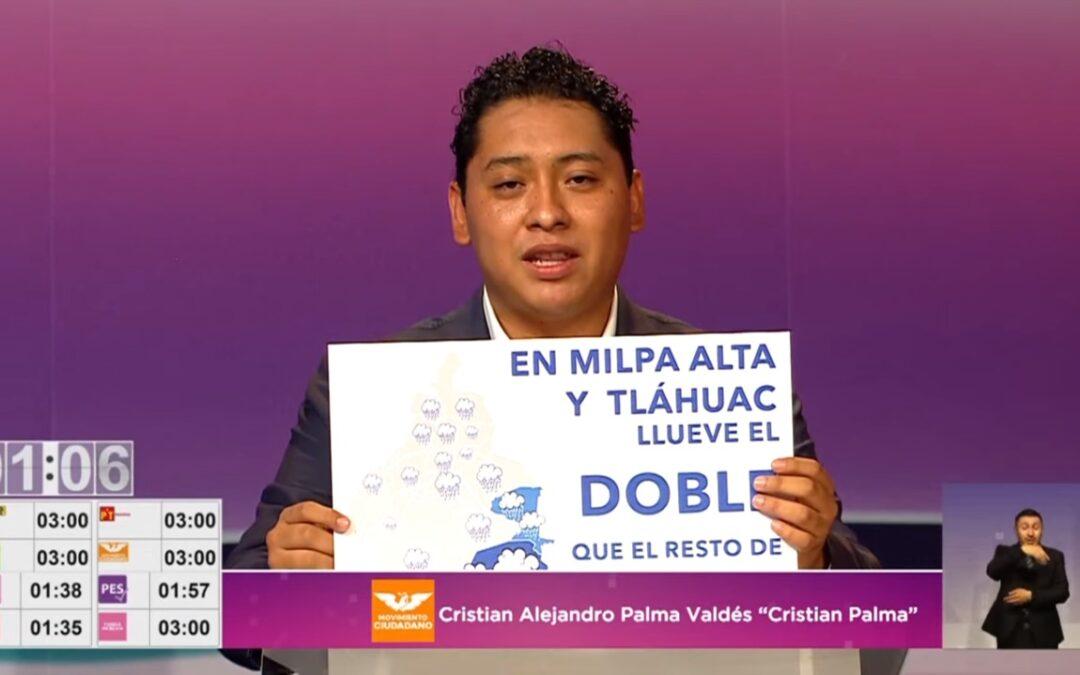 Cristian Palma: ganador de primer debate organizado por el IECM
