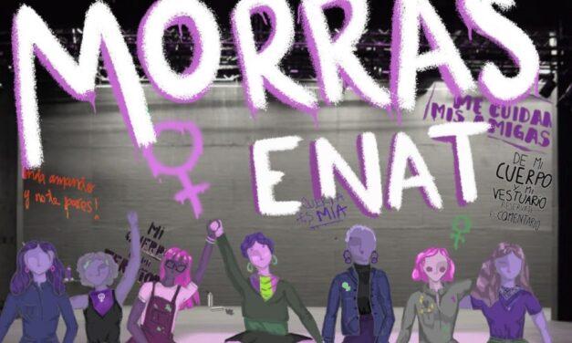 Tras un mes de paro de actividades, el colectivo Morras ENAT presenta su pliego petitorio