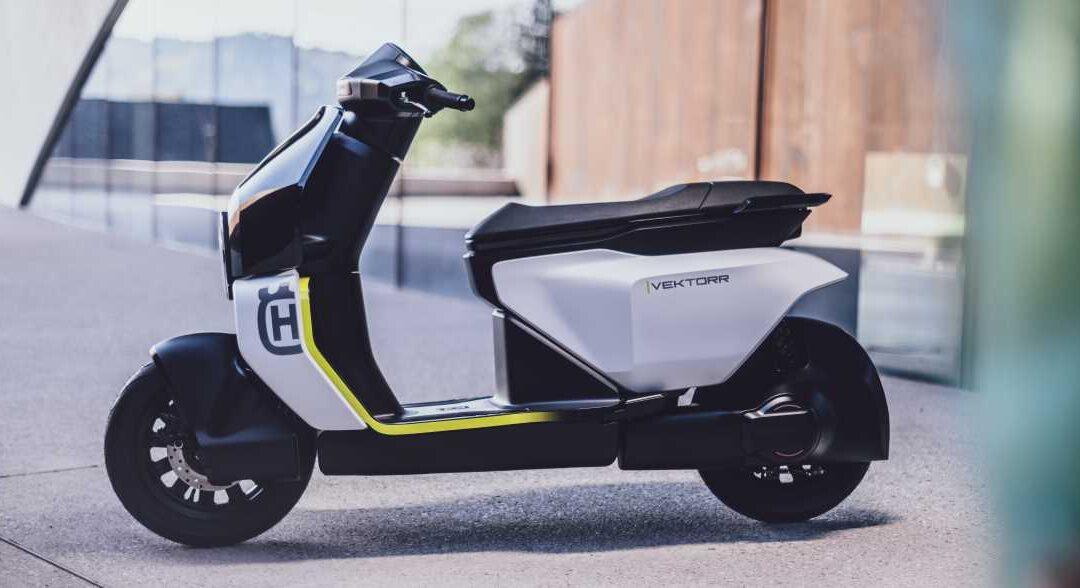 Husqvarna Vektorr Concept, el scooter eléctrico ya es oficial