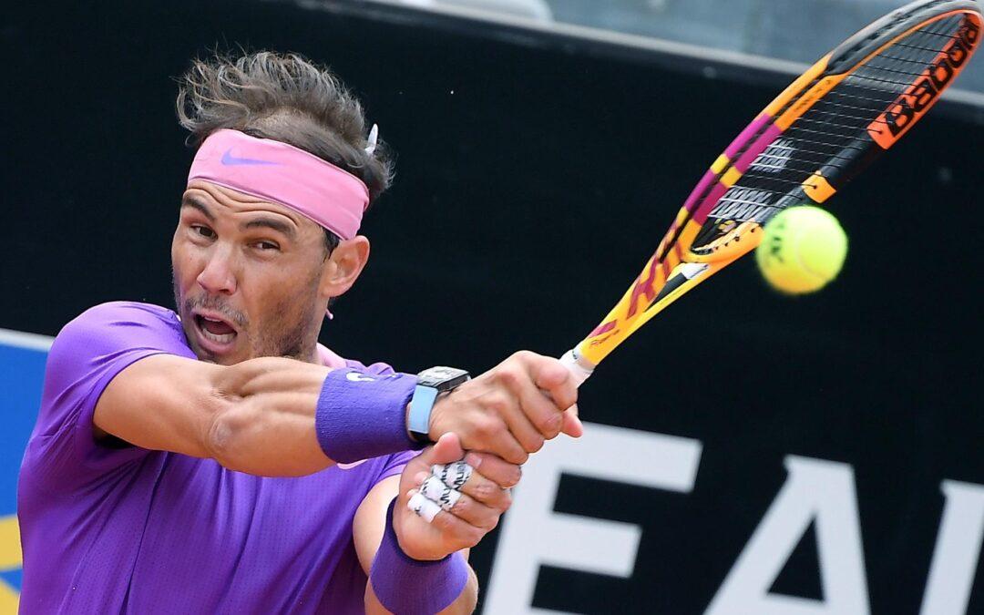 En Roma, Nadal sigue adelante, Barty eliminada