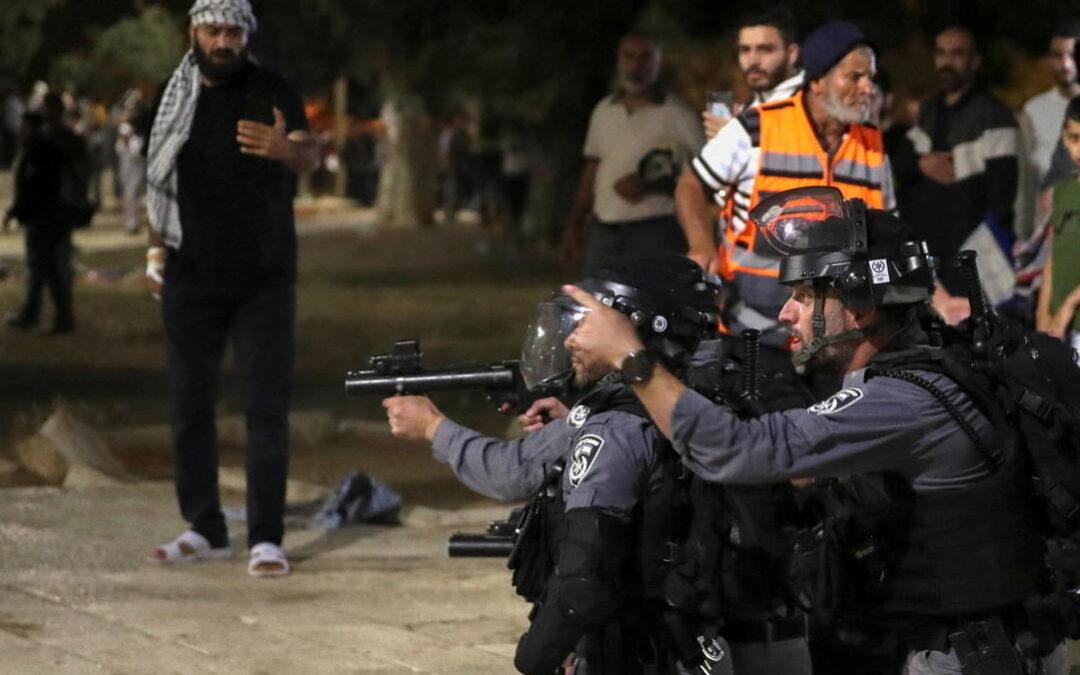 Violencia en Jerusalén deja más de 90 heridos