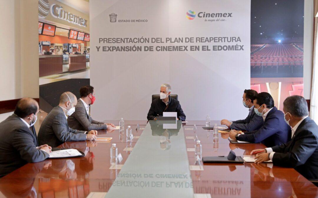 Cinemex próximamente reabrirá en el Estado de México