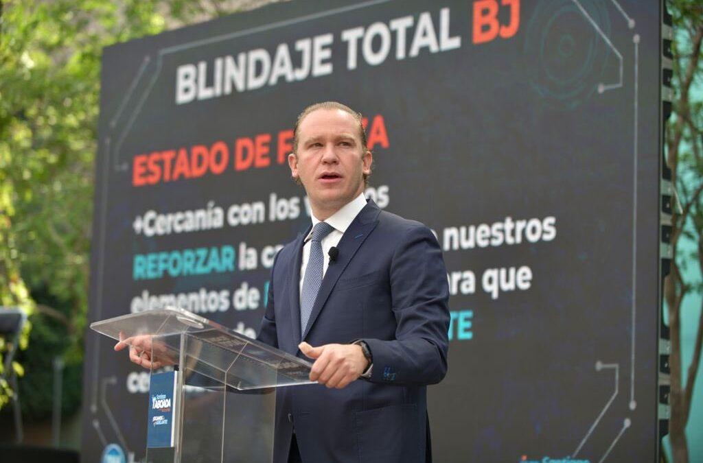 Taboada apuesta por blindaje en Benito Juárez