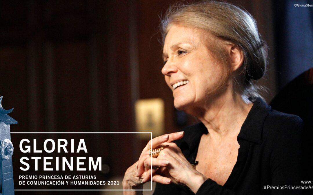 Otorgan Premio Princesa de Asturias a Gloria Steinem