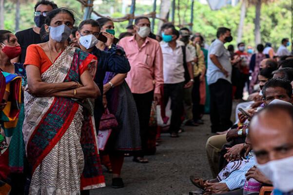 India reduce cantidad de contagio de Covid- Foto EFE