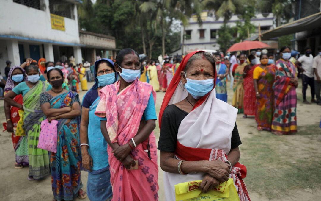 Incontrolable la Covid en India; registra nuevo récord de contagios