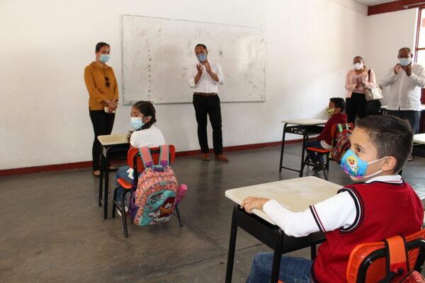 Se mantendrá programa piloto de regreso a clases en Guanajuato