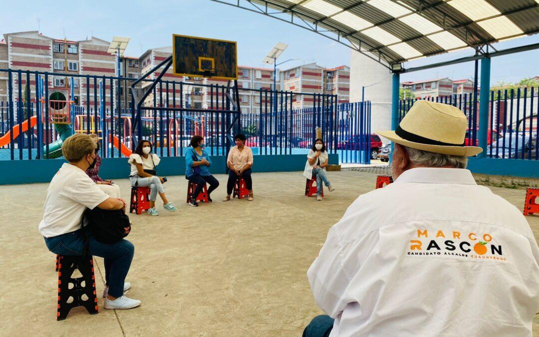 Marco Rascón dará autoridad a ciudadanos en Cuauhtémoc