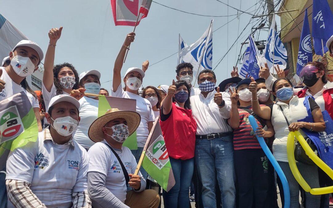 Tony Rodríguez seguro de ganar elección por Tlalnepantla