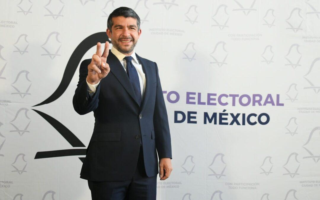 Tabe se declara ganador del debate de Miguel Hidalgo