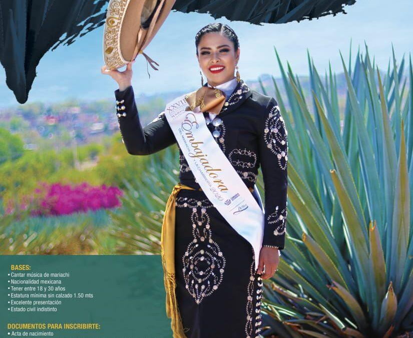 Buscan nueva embajadora del mariachi y charrería 2021