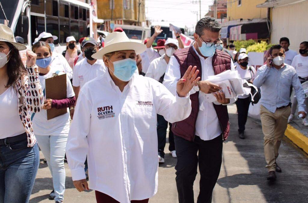 Ruth Olvera se compromete a impulsar uso de suelo en Atizapán