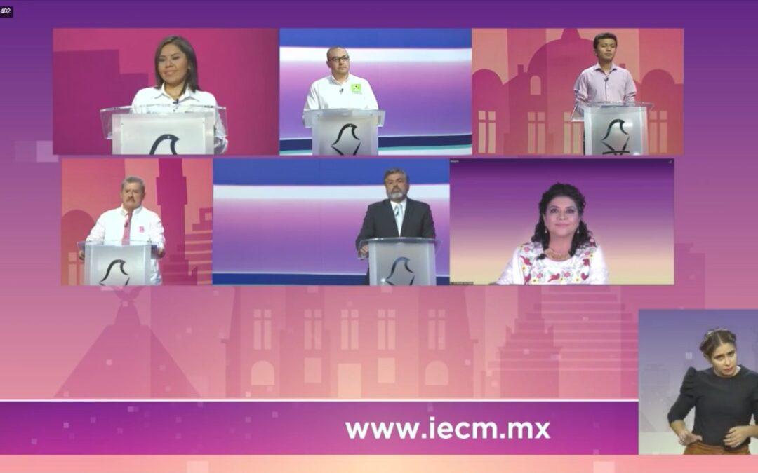Iztapalapa tuvo su debate electoral sin novedades