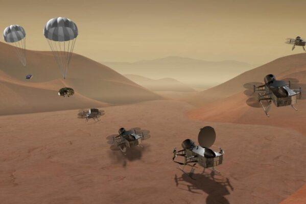 NASA estudia para conseguir muestras de luna Titán