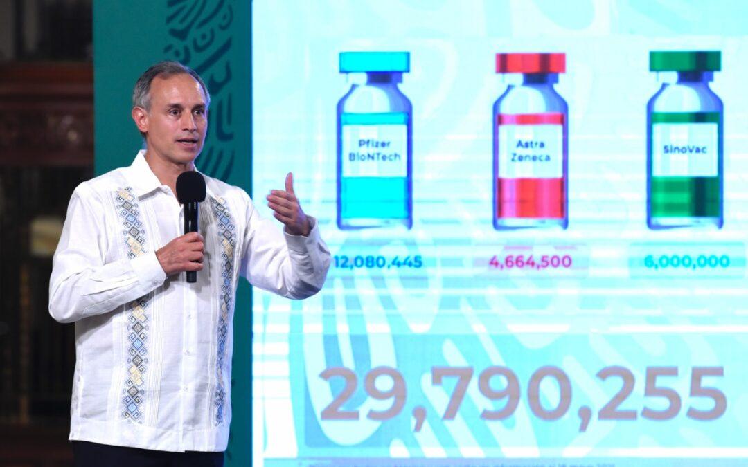 México alcanzará inmunidad de rebaño en agosto