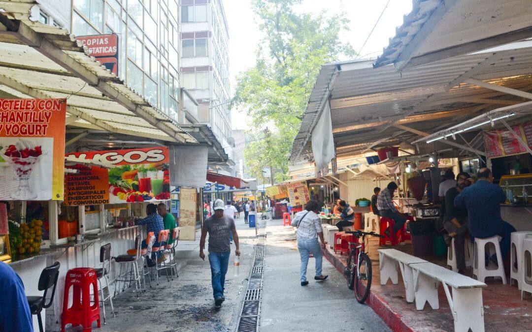 Sedeco abrirá registro para negocios de comida en vía pública