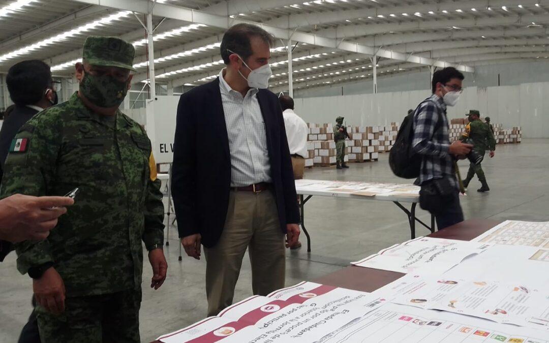 Inicia en Tepotzotlán la distribución de material electoral