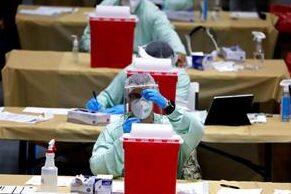 Ecatepec inició vacunación para personas de 40 a 49 años