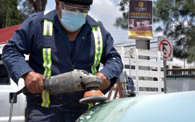 CAEM reparó la fuga de agua potable en Naucalpan