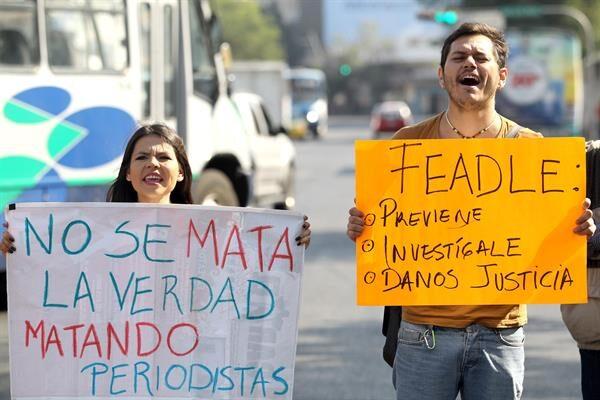 UE condena asesinatos de periodistas mexicanos