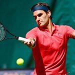 Roger Federer debuta con victoria en Halle