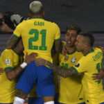 Brasil remontó ante Colombia en Copa América