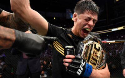 Brandon Moreno hace historia en la UFC
