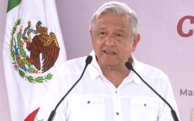 AMLO termina con el conflicto en la carretera Cardel-Tampico