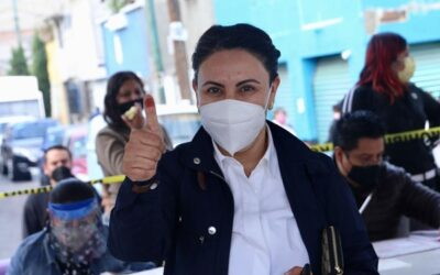 Denuncia Rocío Barreda entrega de despensas a cambio de voto