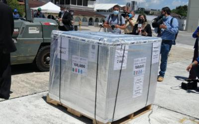México y Argentina donaron vacunas contra Covid-19