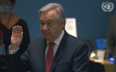 António Guterres va por segundo mandato en la ONU