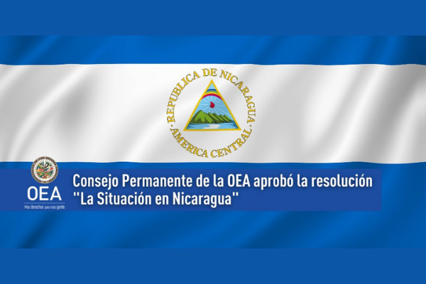 OEA condena arrestos de precandidatos en Nicaragua