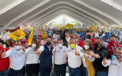 Giovani Gutiérrez cierra su campaña electoral en Coyoacán