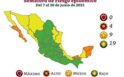 CDMX regresa a semáforo amarillo el 21 de junio