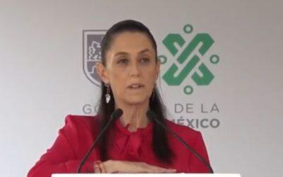 La Policía en CDMX sin corrupción, ni represión: Sheinbaum