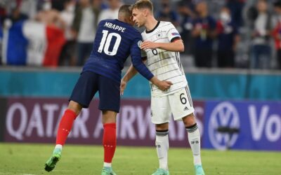 Francia vence por la mínima a Alemania