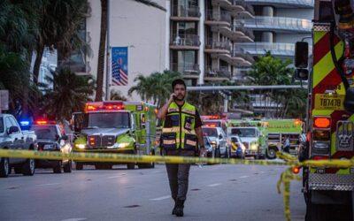 Tras colapso de edificio en Miami, aumentan los desaparecidos