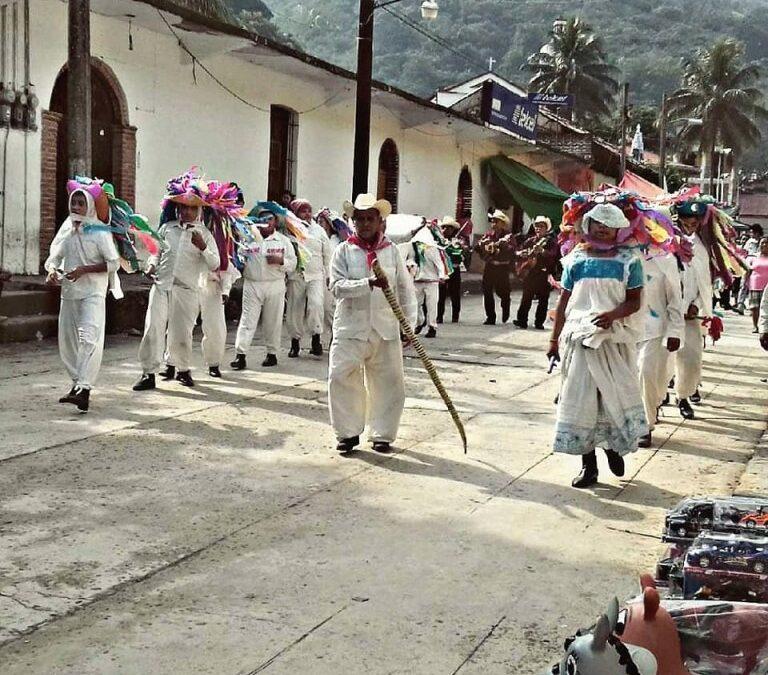 Danza Tampulanes un conocido ritual tepehua en Hidalgo