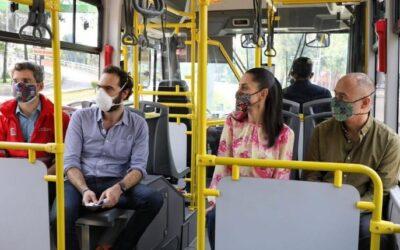 Sheinbaum recorre ampliación de la Línea 4 del Metrobús
