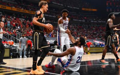 Hawks y Clippers igualan series ante 76ers y Jazz