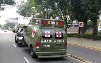 Militares atropellaron a motociclista y quisieron fugarse